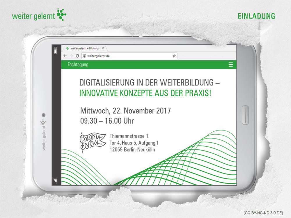 Colonia Nova - Digitalisierung in der Weiterbildung