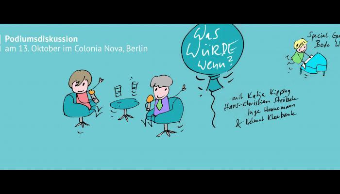 Colonia Nova - panel discussion, conference berlin