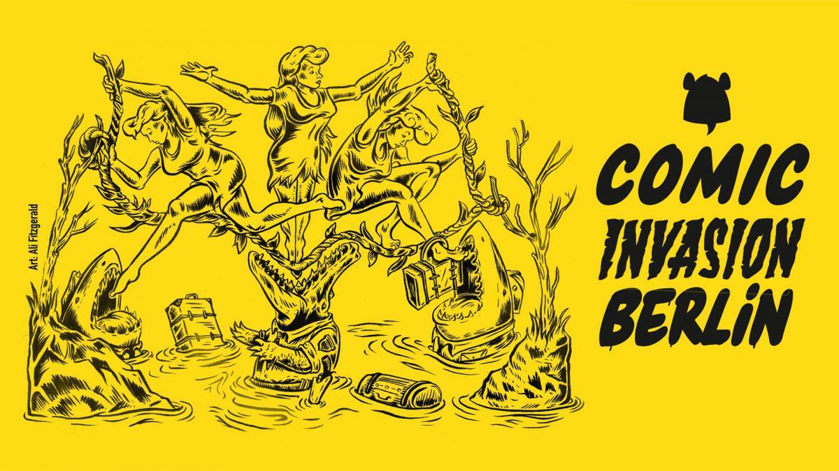 Colonia Nova - Exhibition - Comic Invasion 2016