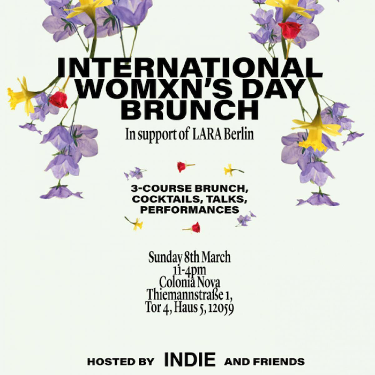 Colonia Nova - International Women's Day Brunch